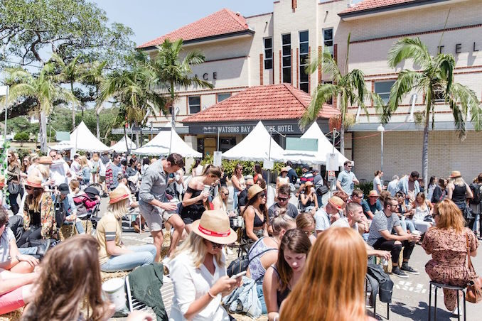 Watsons Bay Boutique Hotel crowd