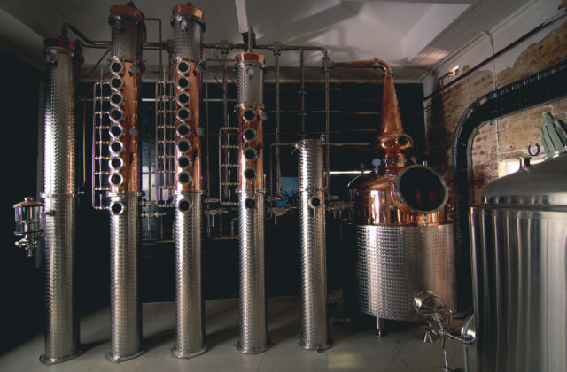 Cannabis Company distillery