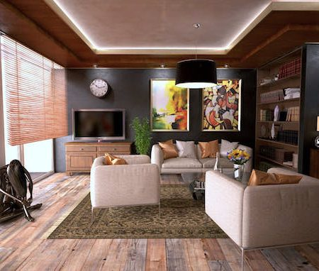 Interiors home living room