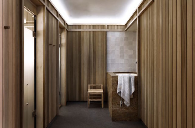 Shelter yoga sauna studio spa 1