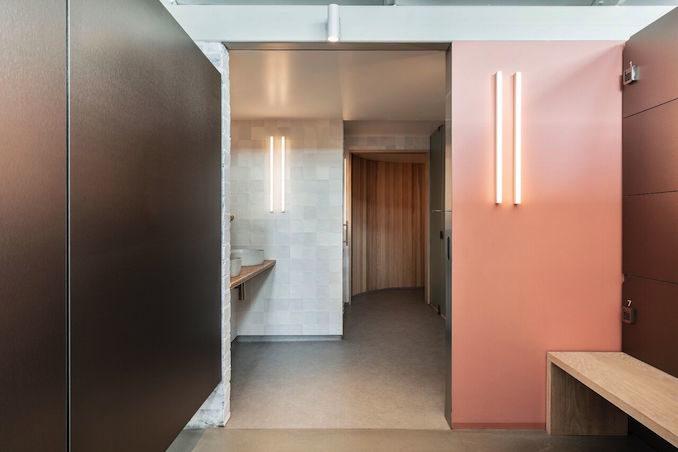 Shelter yoga sauna studio spa 2