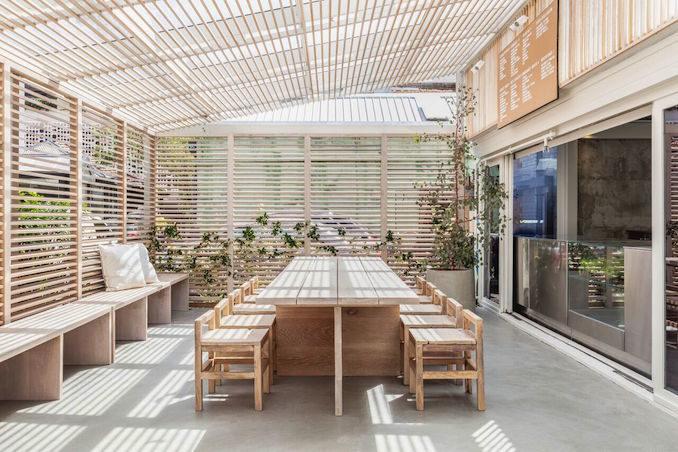 Shelter yoga sauna studio spa 3