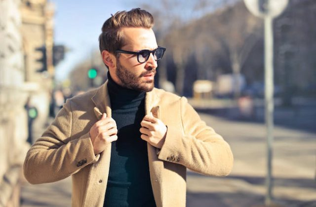Man style coat