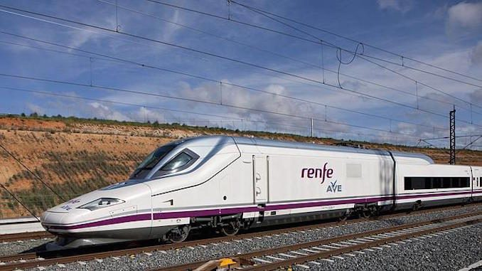 The RENFE Ave