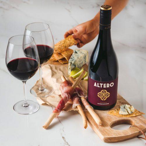 Altero wine cheese bread 1