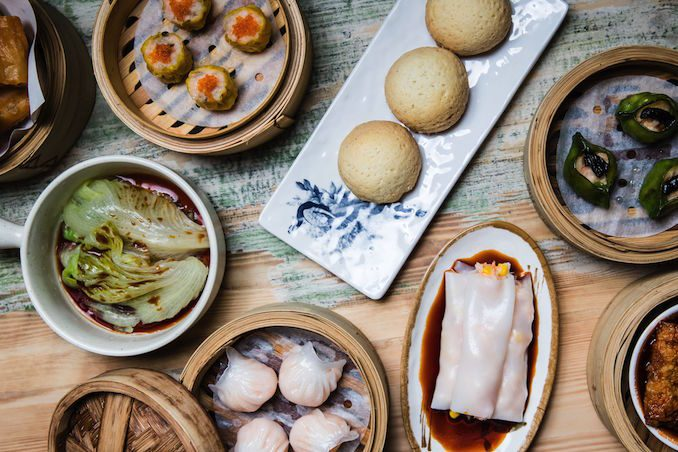 Canton asian food