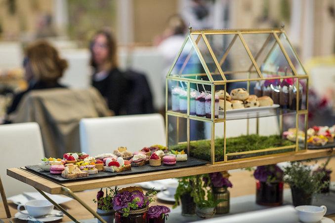 Jardin Blanc Afternoon tea