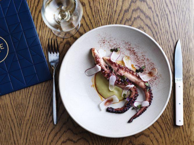 Mode Kitchen & Bar_ Fremantle octopus, potatoes, leeks & radishes