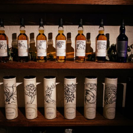 The Game of Thrones Single Malt Scotch Whisky Collection launch full collection