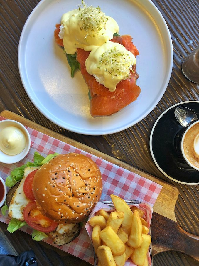 Food available at Chambers Fine Coffee