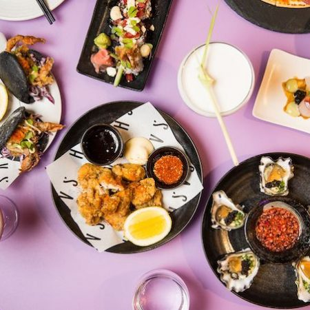Japanese food at Sash Sydney