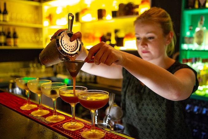 Wellington cocktail bartender 2