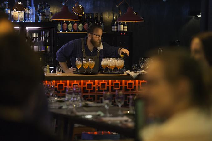 Wellington cocktail bartender