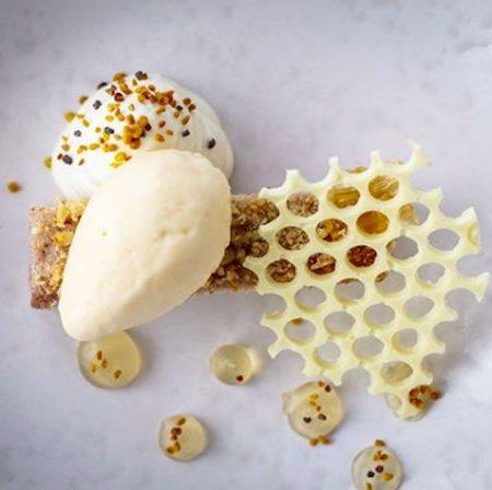 Honey Skylon dessert
