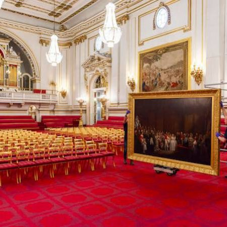 Buckingham Palace State Room
