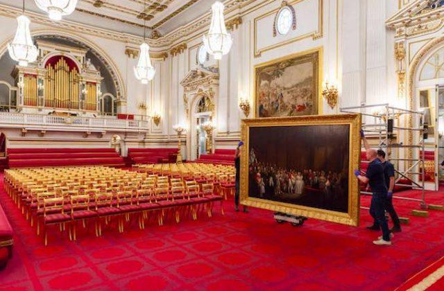 Buckingham Palace State Room