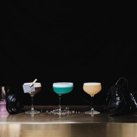 Cocktails and a shoes