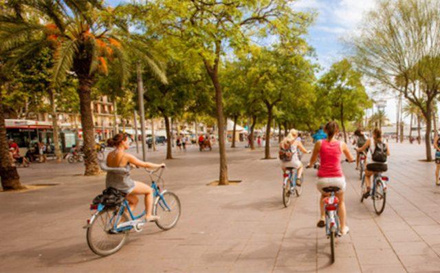 Barcelona bike