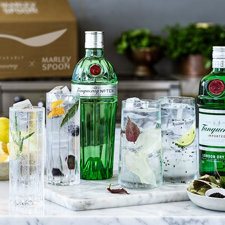 Tanqueray x Marley Spoon