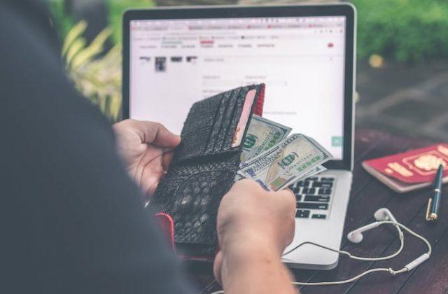 Money laptop computer