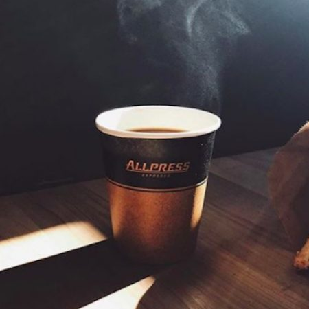 All Press coffee cup