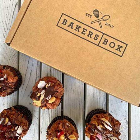 Rocky road cupcakes Baker's Box