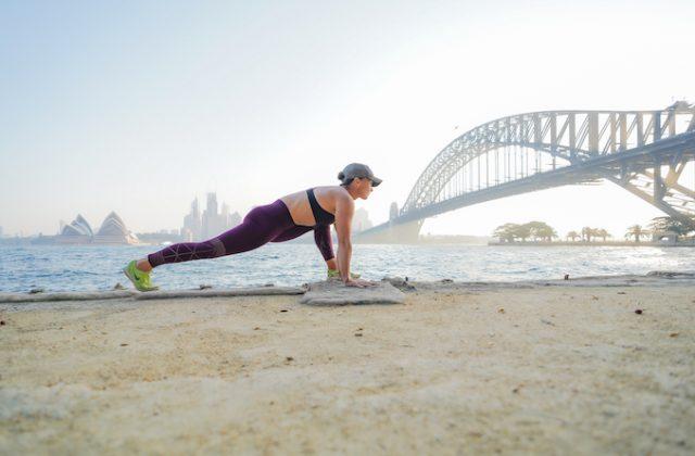 Sydney Harbour Bridge running