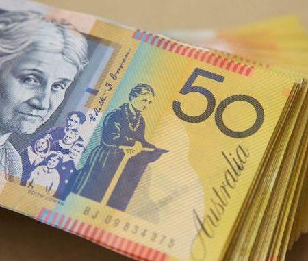 Australian 50 money