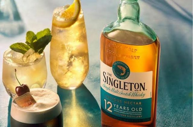 Singleton whiskey orchard cocktail