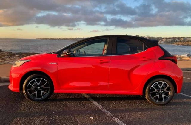 New Toyota Yaris Hybrid ZR