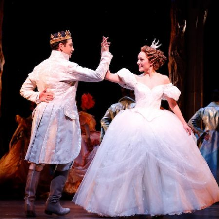 Santino Fontana and Laura Osnes Original Broadway Production of CINDERELLA (c) Carol Rosegg