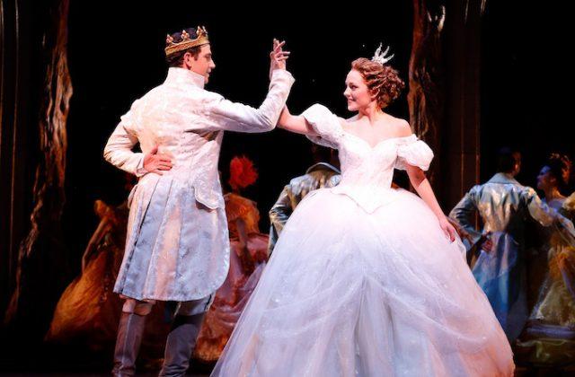 Santino Fontana and Laura Osnes Original Broadway Production of CINDERELLA (c) Carol Rosegg