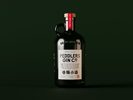 Peddlers Rare Shanghai GIn