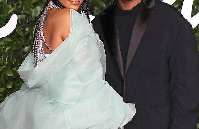 Rihanna-celebrity-red-carpet-suit-dress