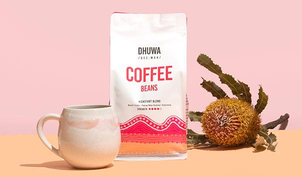 Dhuwa coffee beans